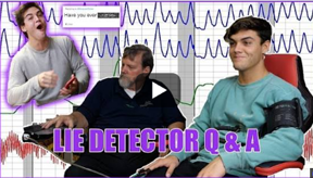 polygraph test on YouTube